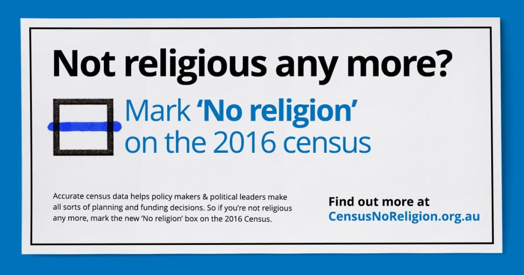 Not religious any more?